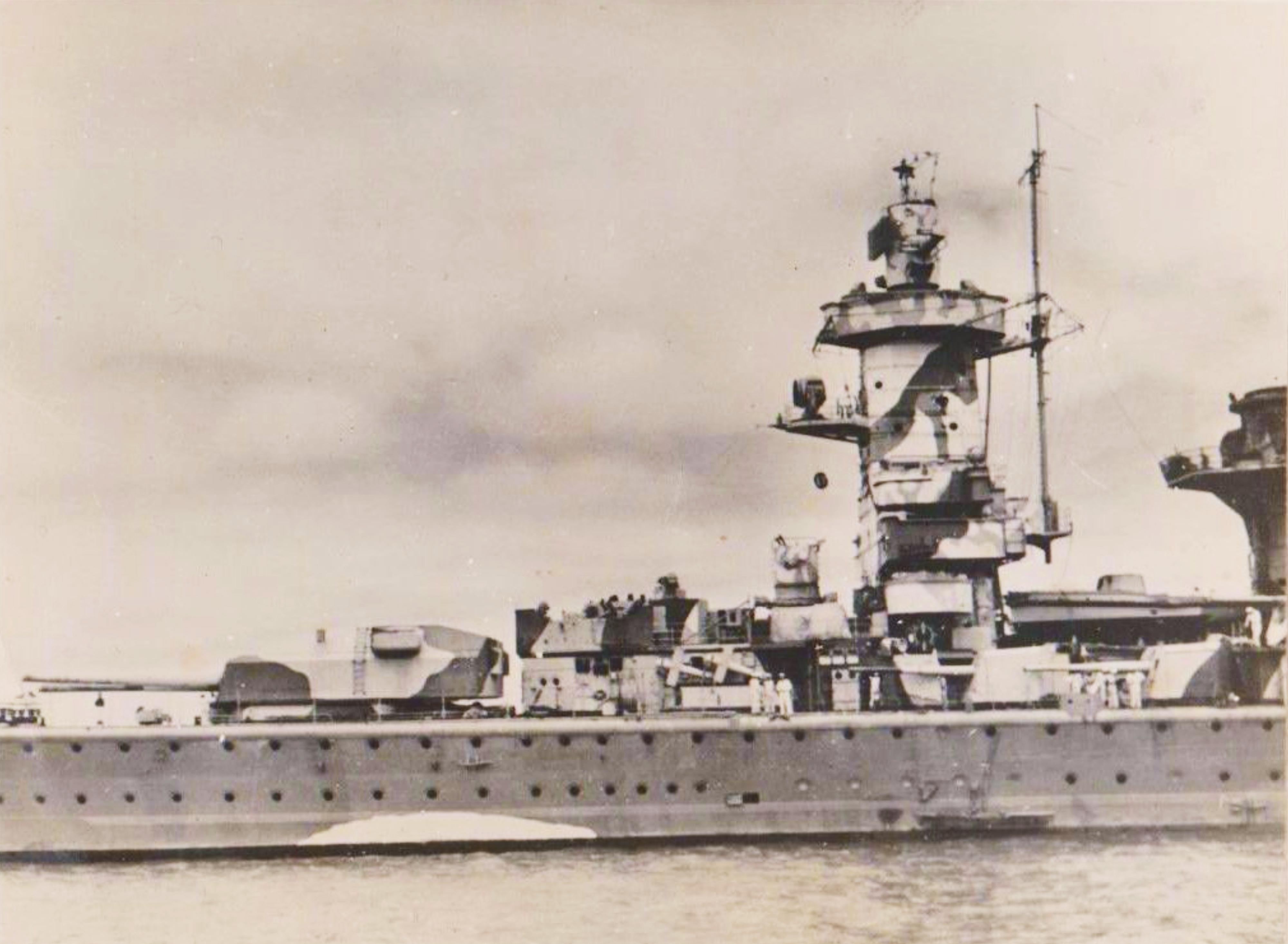 Admiral-Graf-Spee-Montevideo-after-battl